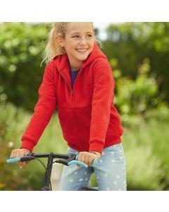 Fruit of the Loom Premium 70/30 Kids Hooded Sweat Jacket