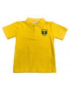 Argyle House Summer Polo Shirt - Yellow