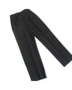Boys Black Junior Black Elastic Back Trousers