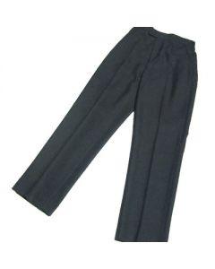 Boys Junior Elastic Back Trousers – Grey