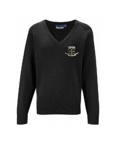 Northfield College Black Pullover w/Logo