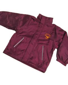 Vane Road Primary Maroon Reversible Jacket w/Logo