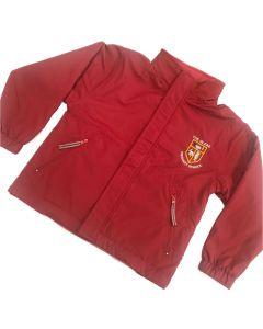 Glebe Red Reversible Jacket w/Logo