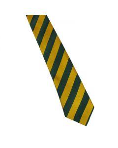 Sedgefield Green/Gold Stripe Tie