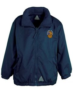Aycliffe Navy Mistral Kids Jacket w/Logo (Optional)
