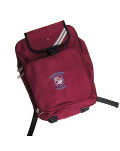 Crooksbarn Maroon Backpack w/Logo (Optional)