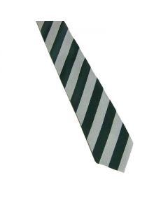 Sedgefield Green/White Stripe Tie