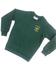 St Patricks Crew Neck Sweatshirt w/Logo