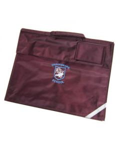 Crooksbarn Maroon Bookbag w/Logo