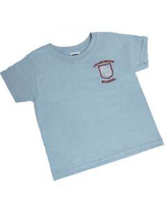 Crooksbarn Sky P.E T-Shirt w/Logo