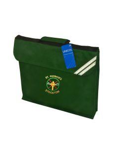 St Patricks Book Bag w/Logo