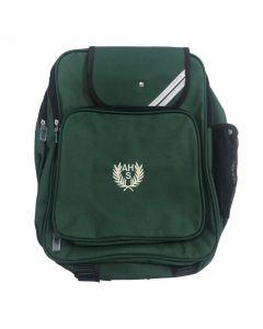 Argyle House Bottle Green Backpack w/Logo