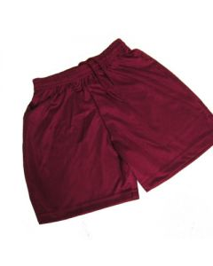 Crooksbarn Maroon Micro Stripe Short