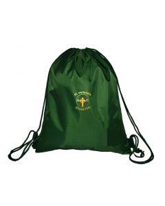 St Patricks Gym Bag w/Logo