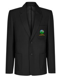 Greenfield Boys Black Blazer w/Logo