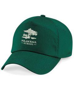Polam Hall Junior Cap - Bottle Green