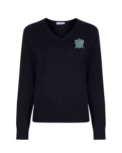 Our Lady & St Bede Girls Pullover w/Logo