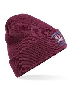 Crooksbarn Maroon Acrylic Hat w/Logo (Optional)