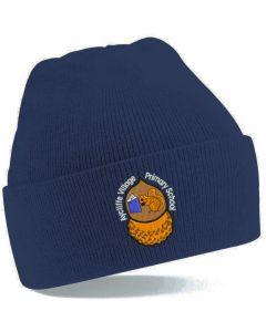 Aycliffe Navy Ski Hat w/Logo
