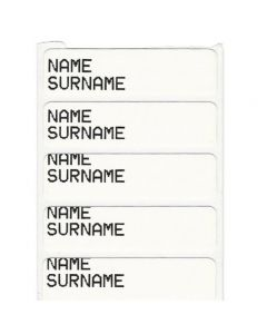 Iron-On Name Labels