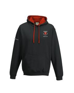 Northfield College Varsity Hoodie Black/Red w/Logo (optional)