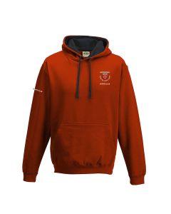 Northfield College Varsity Hoodie Red/Black w/Logo (optional)