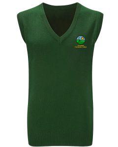 Greenfield Bottle Green Girls Slipover w/Logo