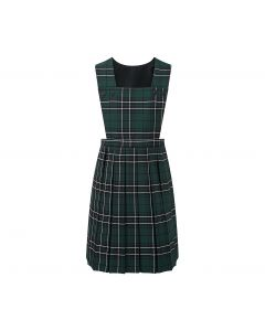 Polam Hall Girls Pinafore - Bottle Tartan