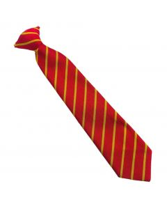 St Pauls Red/Gold 12″ Clip on Tie
