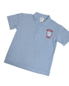 Crooksbarn Sky Polo Shirt w/Logo