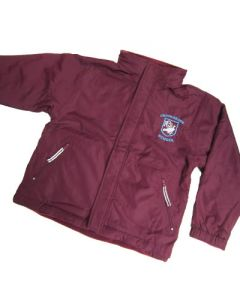 Crooksbarn Maroon Reversible Jacket w/Logo (Optional)