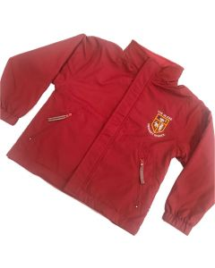 Glebe Red Reversible Jacket w/Logo
