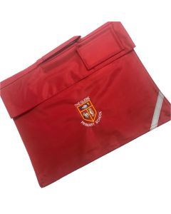 Glebe Red School Book Bag w/Logo