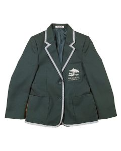 Polam Hall Senior Girls Blazer - Bottle with Half Trim