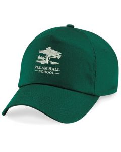 Polam Hall Junior Cap - Bottle Green