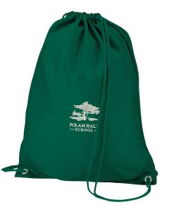 Polam Hall Junior PE Bag - Bottle Green