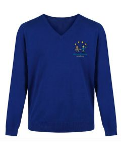 Norton Primary Knitted V-Neck Pullover w/Logo